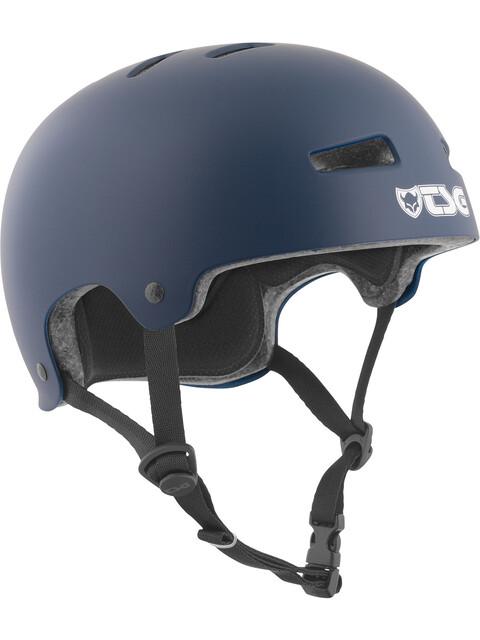 TSG Evolution Solid Color Helmet satin blue